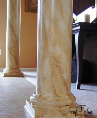 Decorative Faux Marble