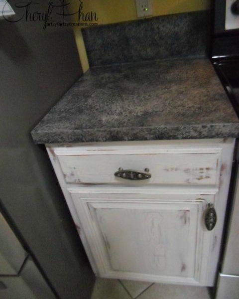 Faux Granite Counter Top