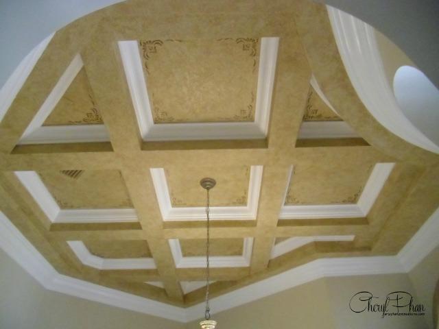 Faux Glazed Ceiling