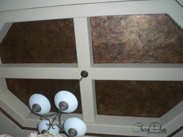 Metallic Ceiling