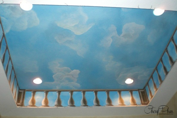 Cloud & Sky  Ceiling with a Touch of Elegance