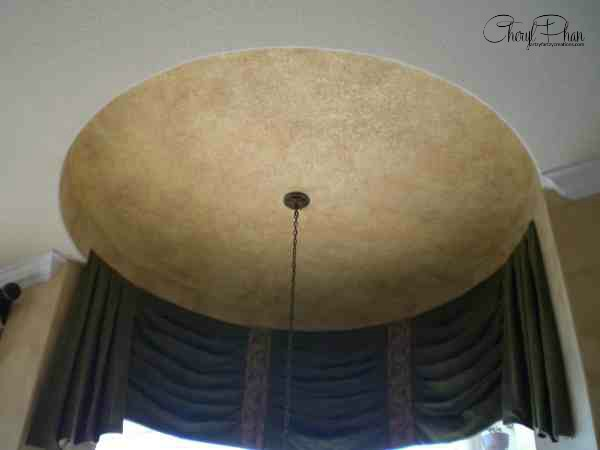 Easy Faux Ceiling