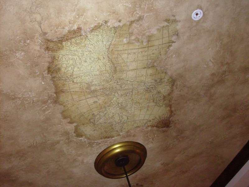 Map Ceiling