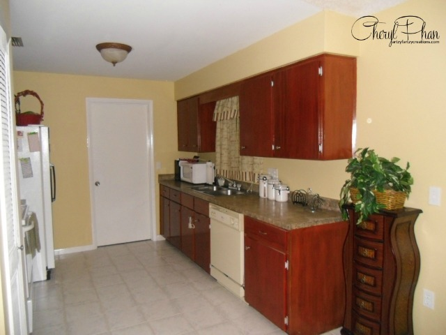 Cabinet & Counter Top Makeover