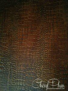 Crocodile Brown