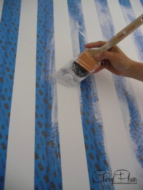 How to Paint Stripes - Cheryl Phan