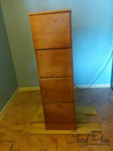 File Cabinet before