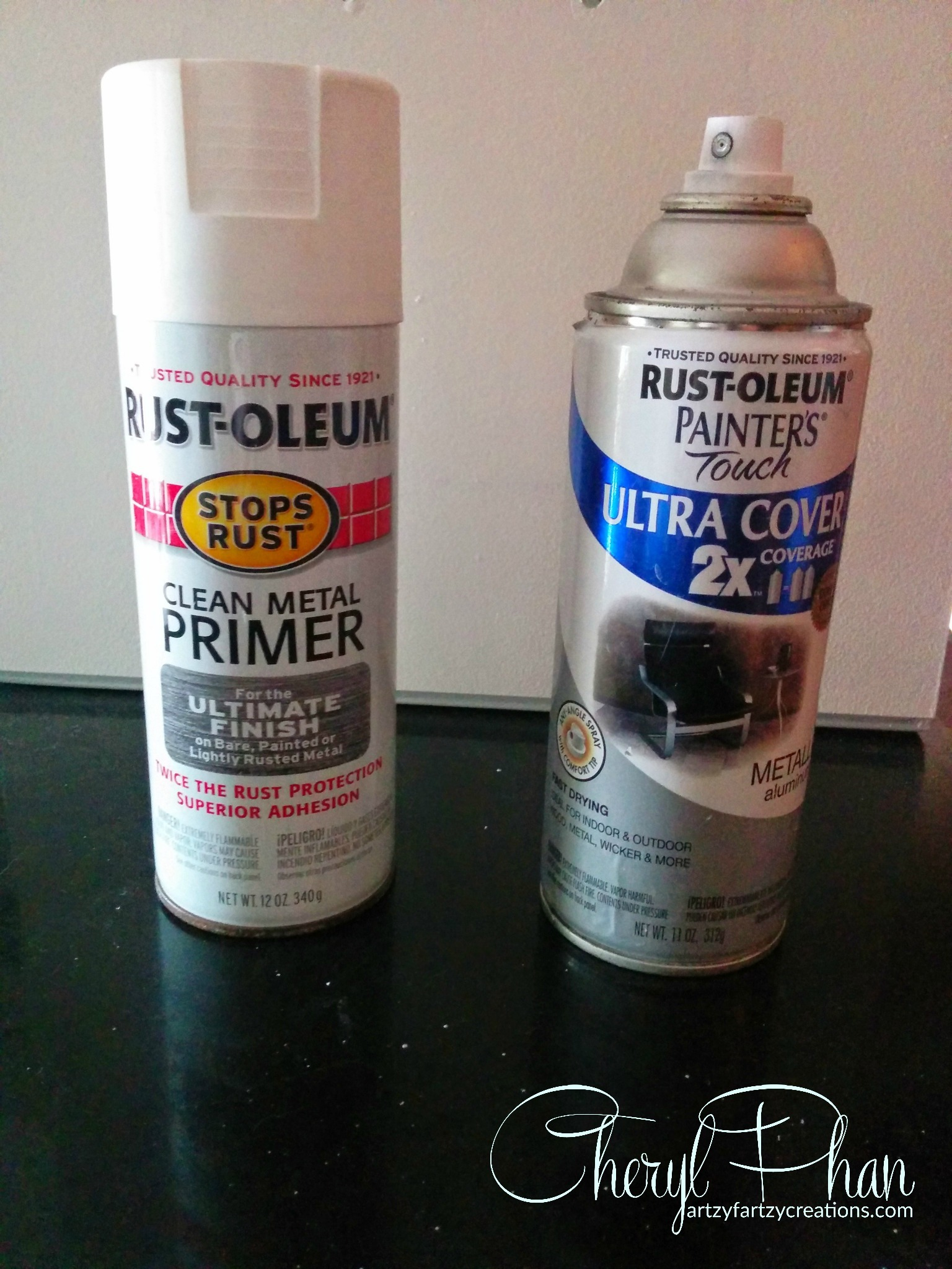 Rustoleum Spray Paint For Styrofoam
