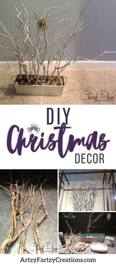 DIY Christmas Decor - a budget-friendly idea by Cheryl Phan