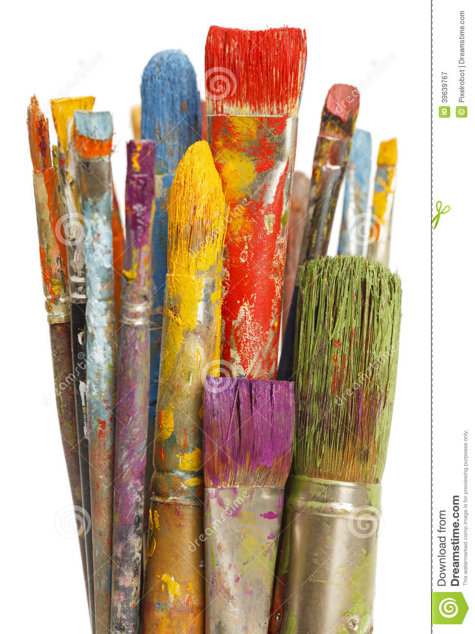 How To Clean Used Paint Brushes