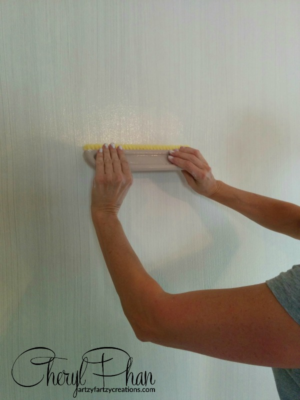 How To Paint A Strie Faux Finish Artzy Fartzy Creations