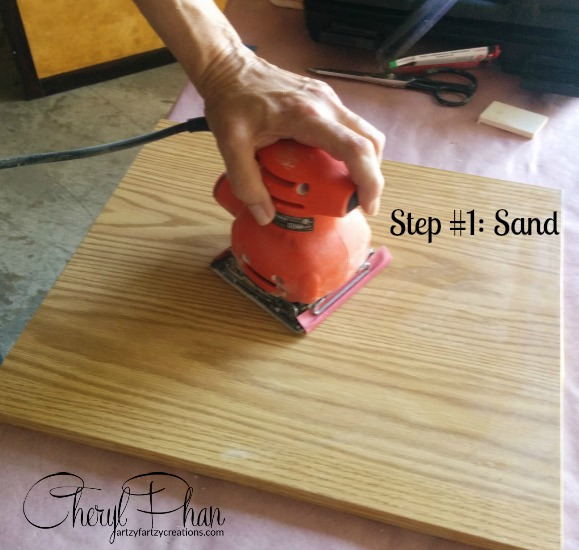 Step 1 sand siginture