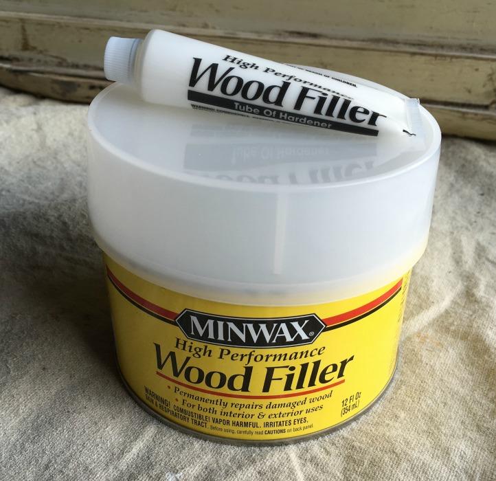 Minwax wood filler