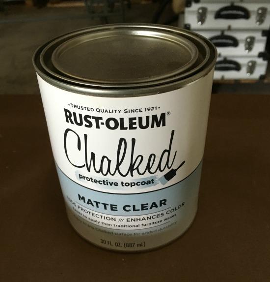 chalk paint sealer