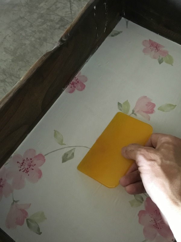 smoothing out wallpaper