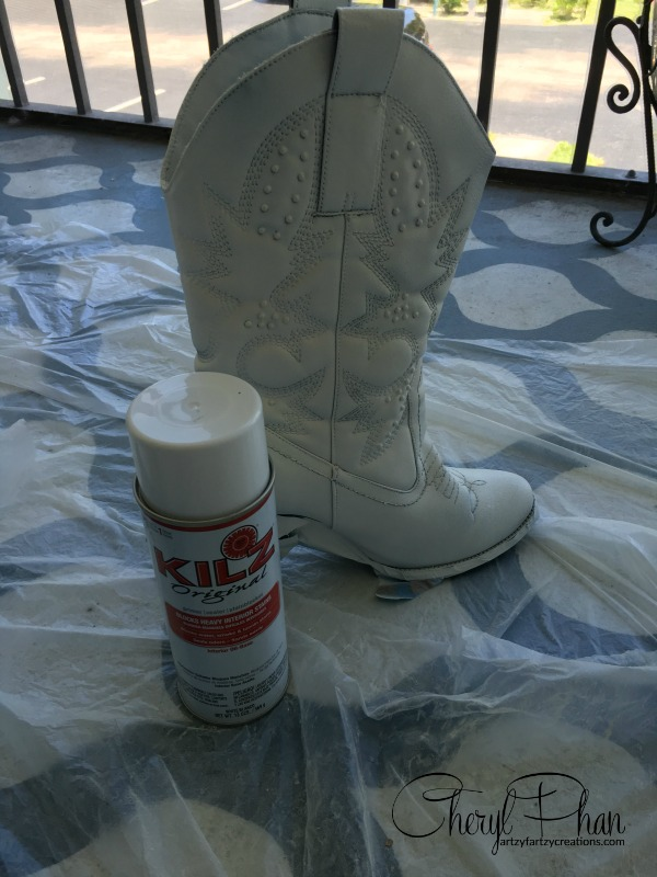 Primed boots