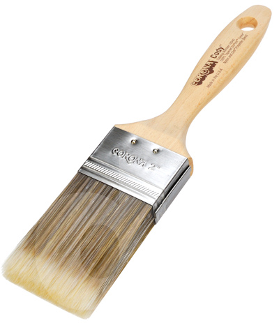 Paint Brush Natural Bristle For Oil Base