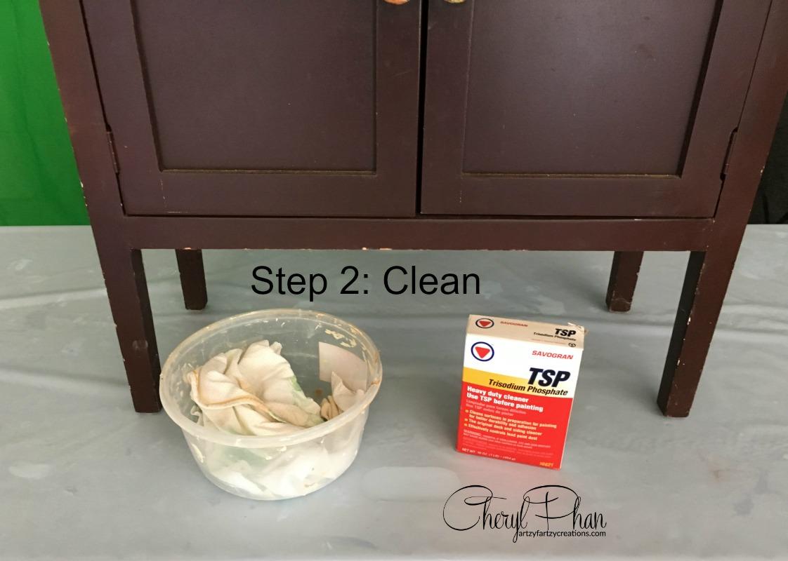 Step 2 clean