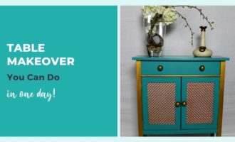 Table Makeover You Can Do in One Day