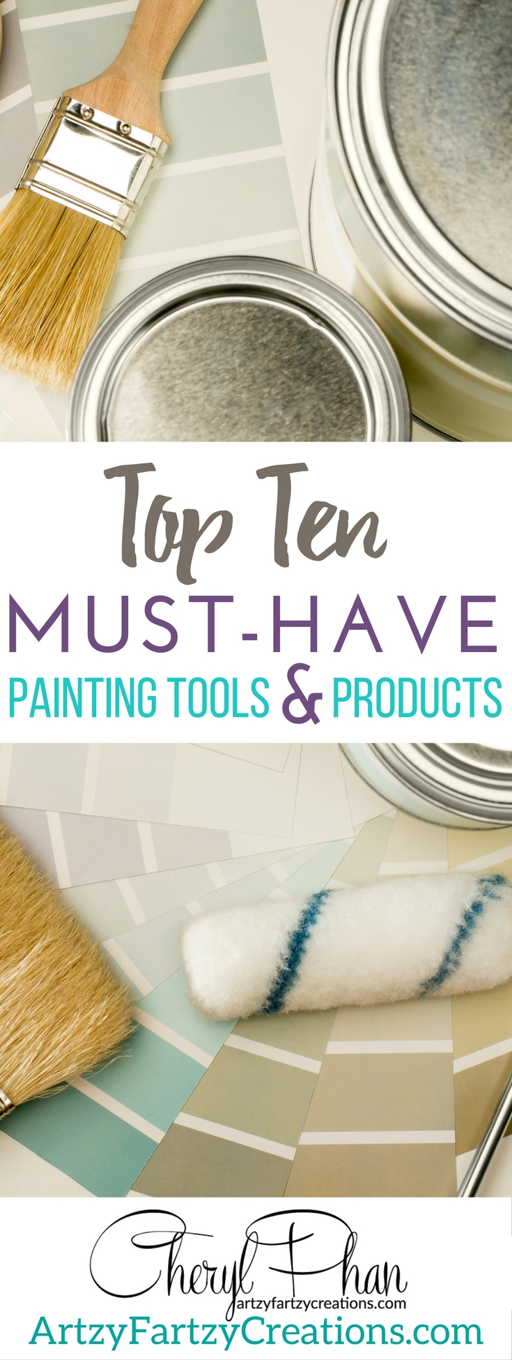 Ten Ten Painting Tools and Products   Furniture Painting Tips and Accent Wall Painting Tips by Cheryl Phan