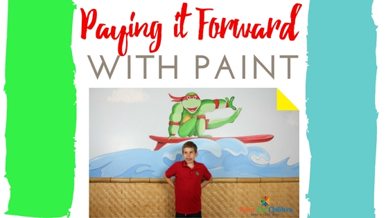 Paying it forward with Paint