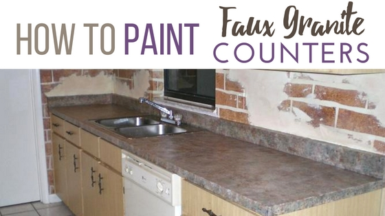 Faux Granite Counter Top
