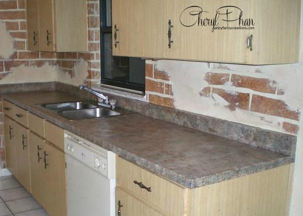 Granite Counter painted