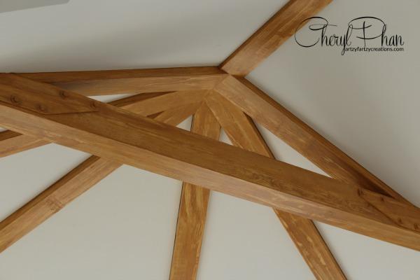 Faux Oak wood graining