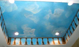 Painted Clouds on Ceilings & Walls | Cheryl Phan