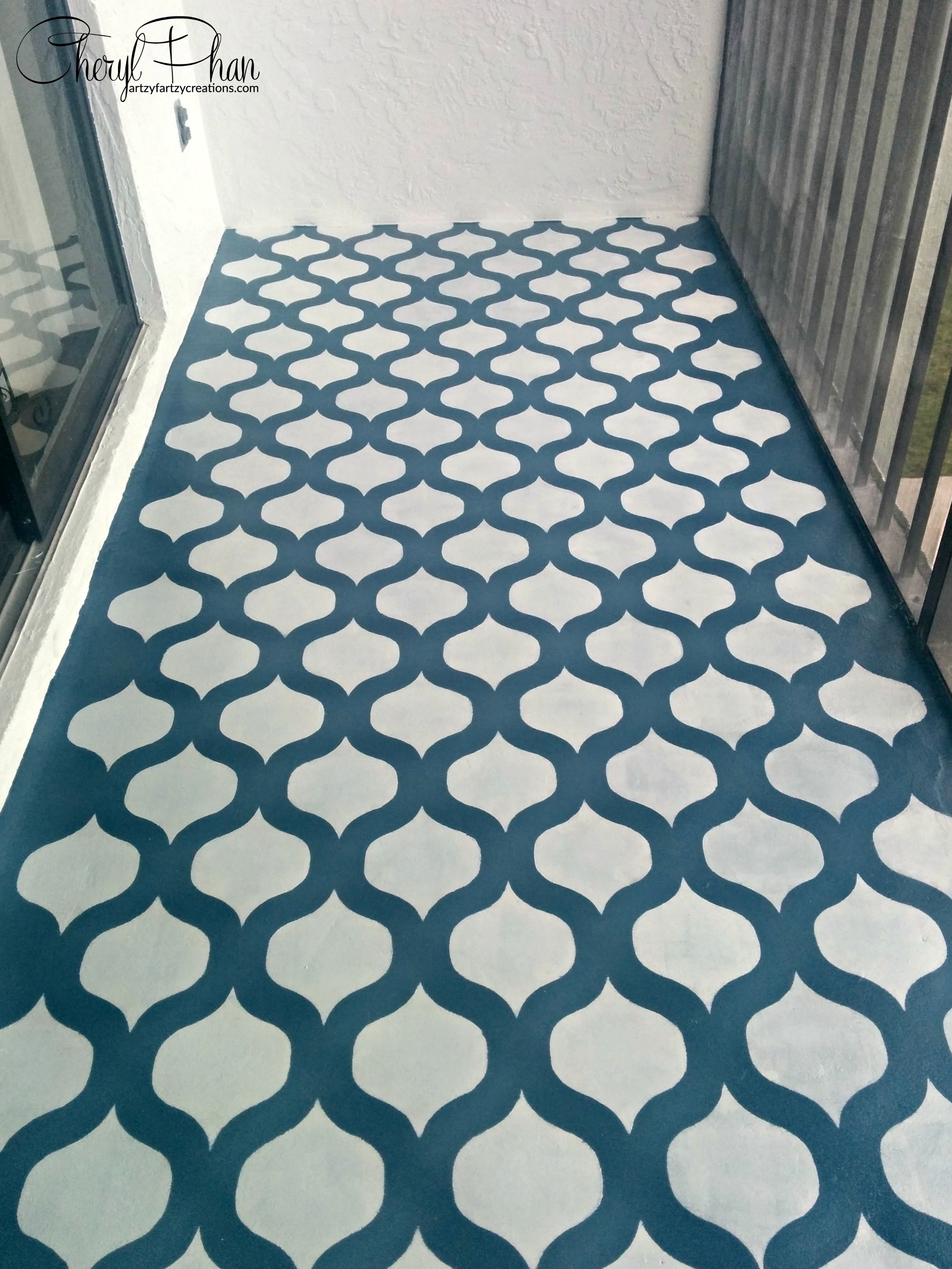 How To Create a Stenciled Floor
