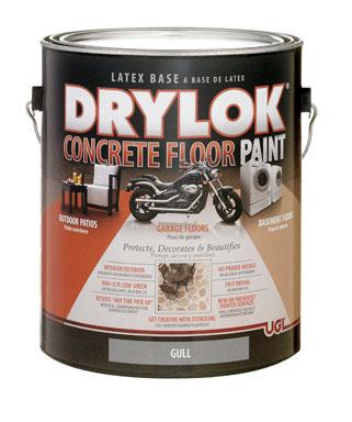 Drylock Painted and Stenciled Floor   Cheryl Phan of artzyfartzycreations.com