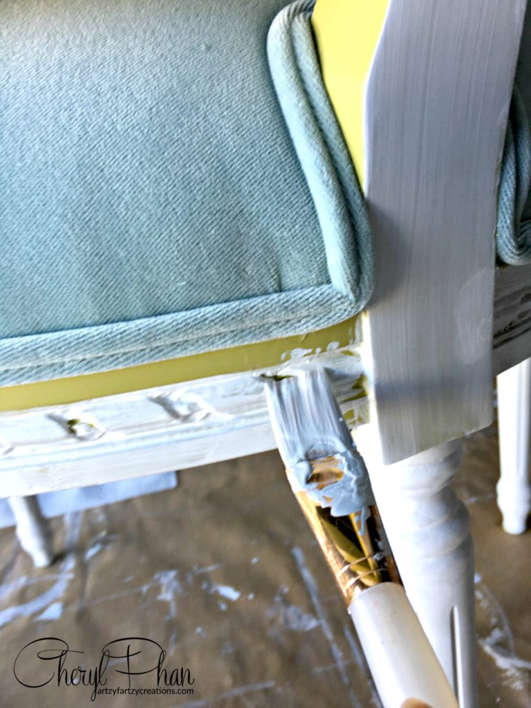 How to Paint Upholstered Chairs | Cheryl Phan