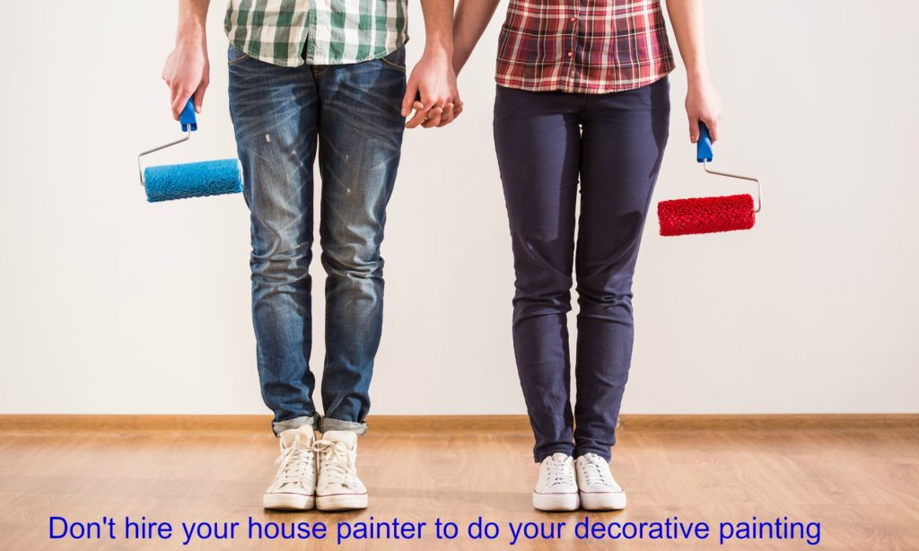 Hiring a Decorative Painter
