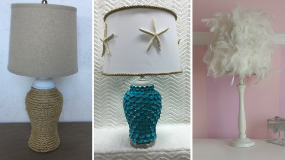 Thrift Store Lamp Makeover | Cheryl Phan