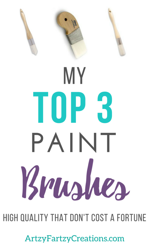 Best Paint Brushes that are high-quality but not expensive | Painting Tips by Cheryl Phan + Painting Tools + Painting Furniture + Painting Trim + How to paint small spaces and details