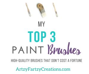Best Paint Brushes Cheryl Phan