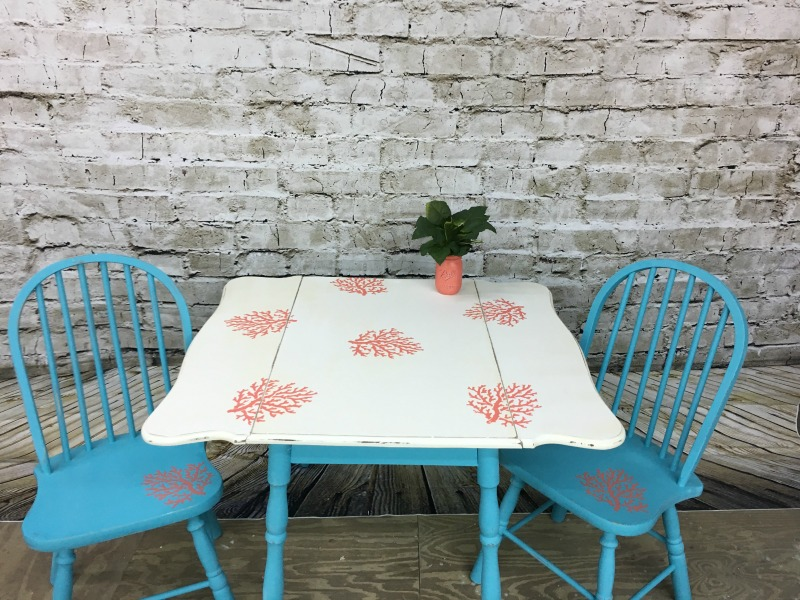 Coastal Table & Chairs