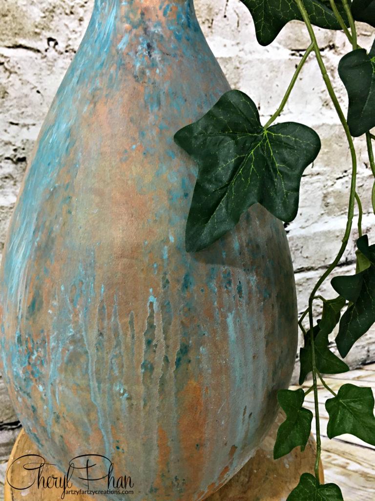 DIY Painted Patina Finish | Cheryl Phan