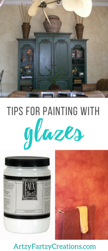 Tips for working with Glaze on furniture and faux finishes by Cheryl Phan | Painting Tips & Glazing Tips