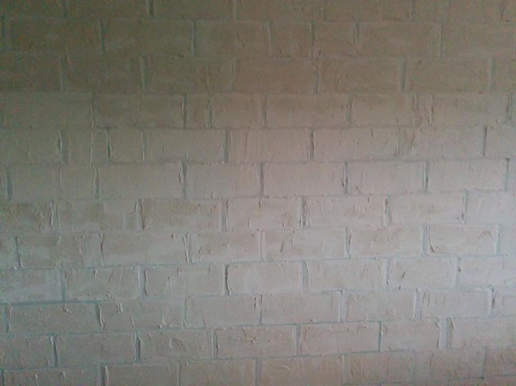 How To Paint Faux Brick Feature Wall Faux Finishing By