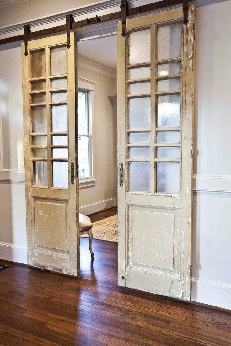 23 barndoor ideas with a unique twist cheryl phan for Can you put screens on french doors