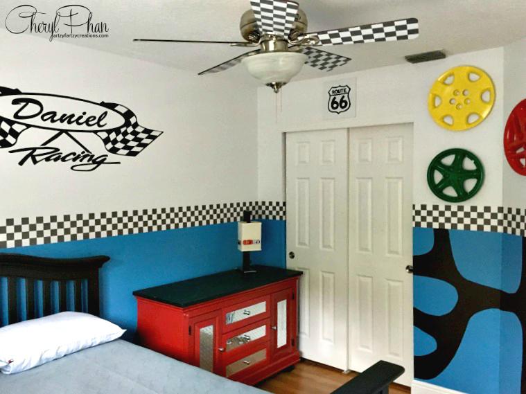 How to Design a Race Car Boys Room