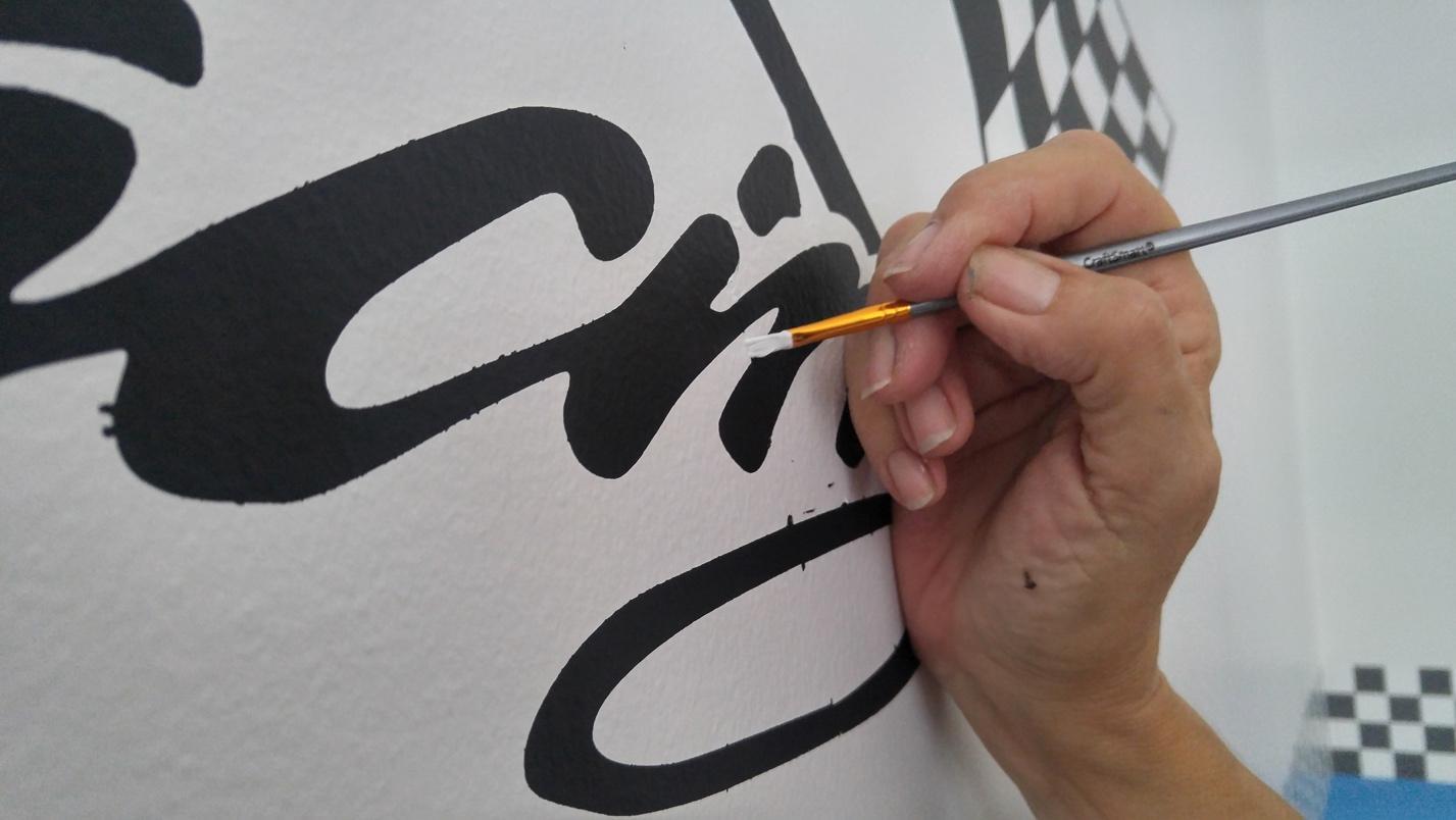 Race Car Boys Room Cheryl Phan Stencil 3
