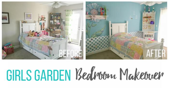 Garden-themed Girls Bedroom Ideas by Cheryl Phan