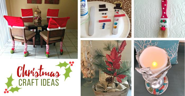 5 Fun Handmade Christmas Crafts & Ornaments