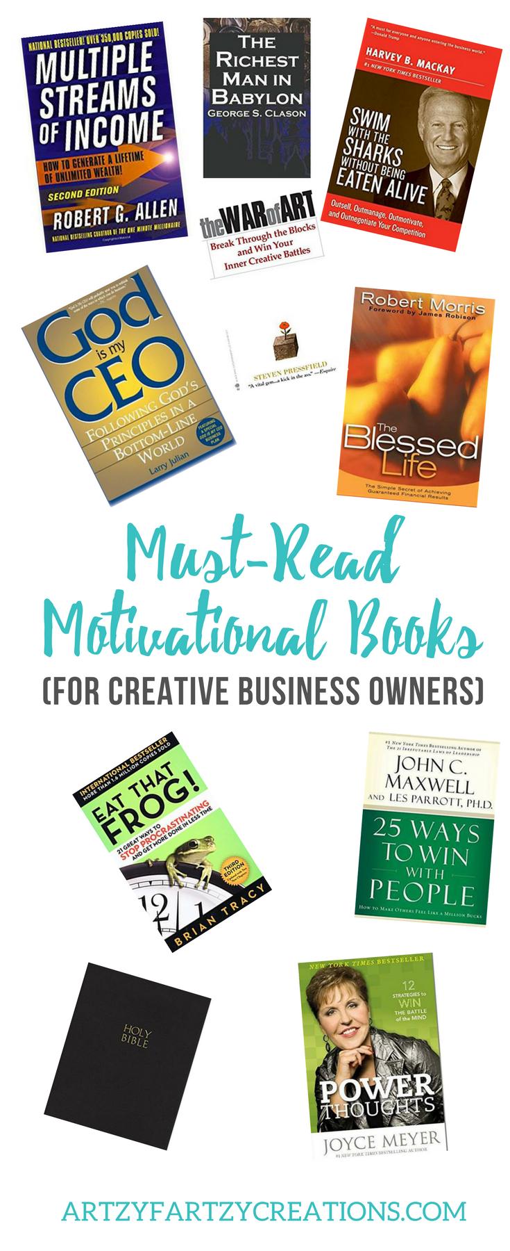 My Top Ten Motivational Books For