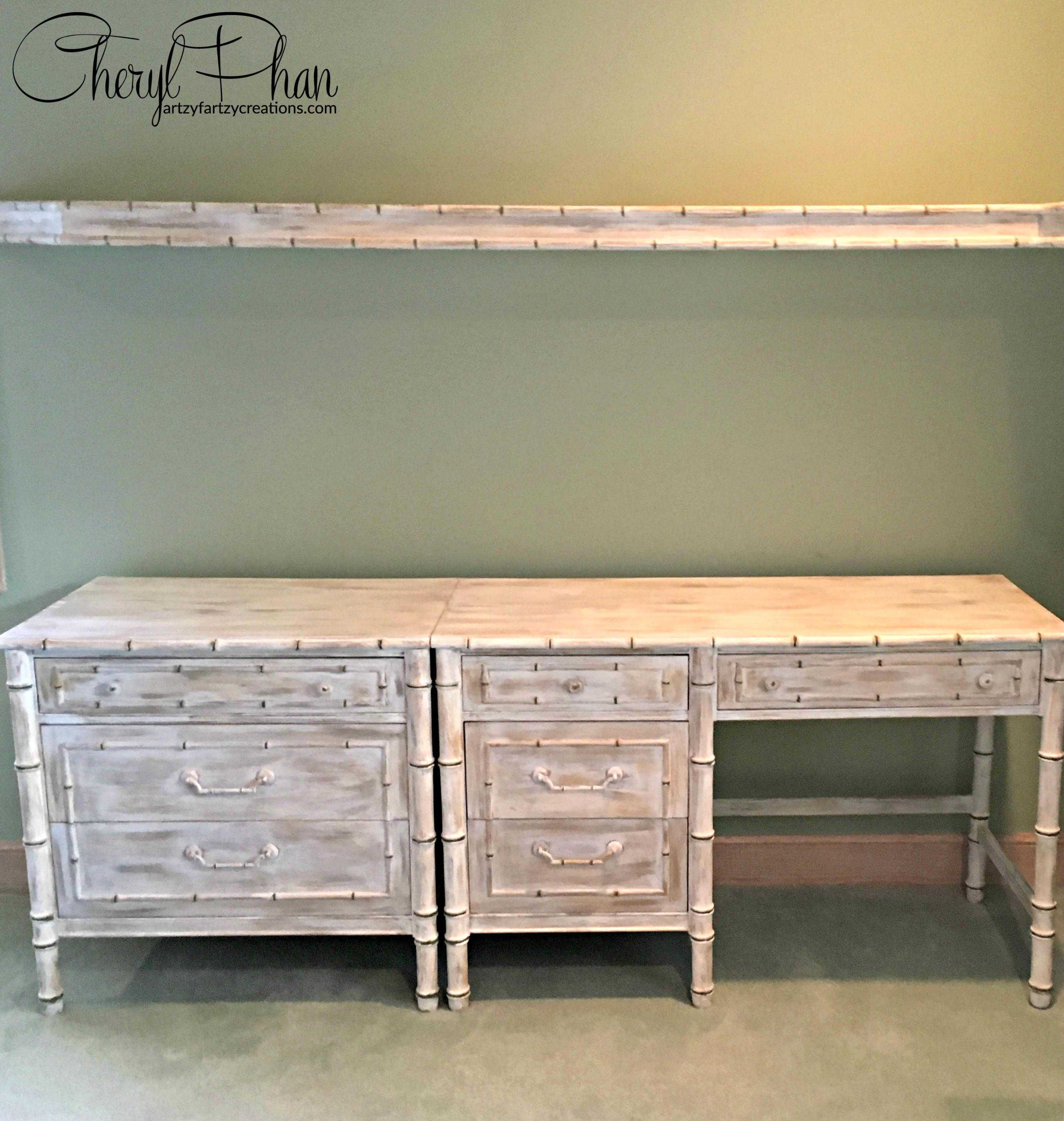 Weathered Furniture Finish - Cheryl Phan