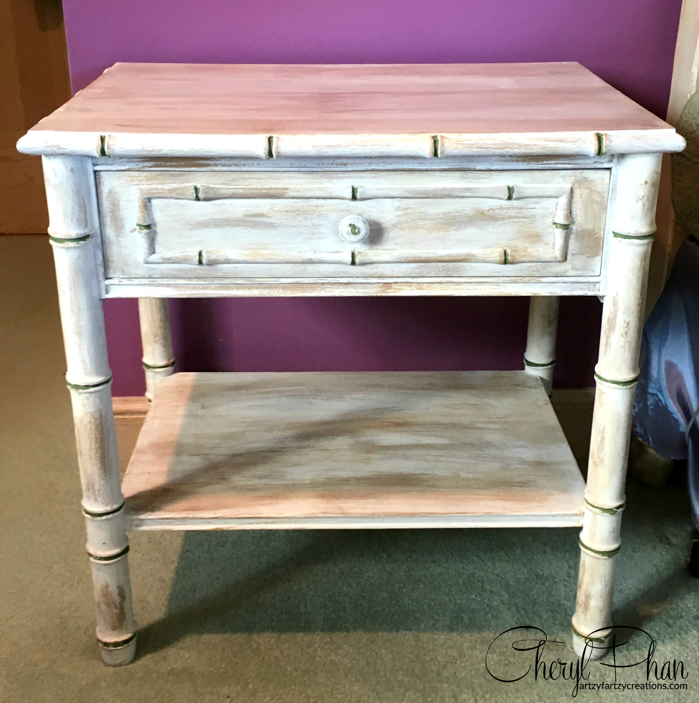 Weathered Furniture Finish   Cheryl Phan