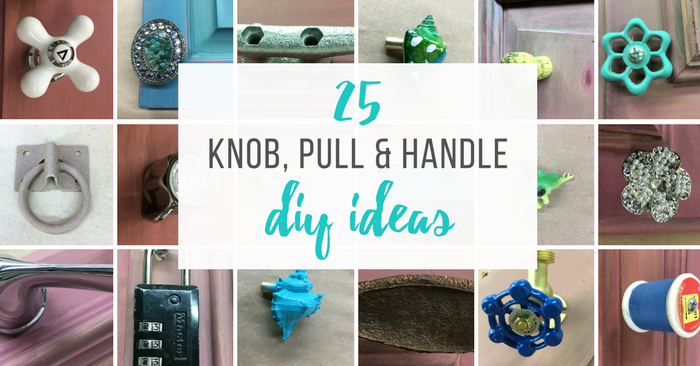 25 Creative Drawer Pulls You Can make Yourself