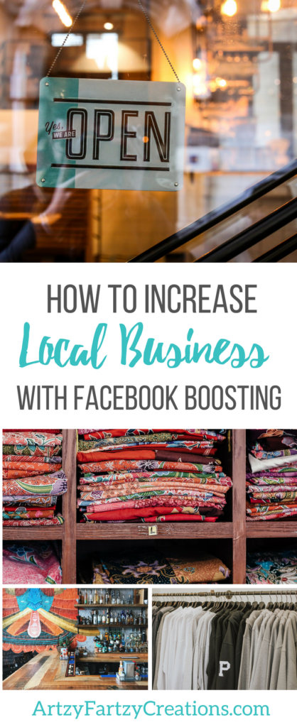 How to Increase Local Business with Facebook Boosting by Cheryl Phan | Business Marketing | Business Tips | Local Advertising | Facebook Ads
